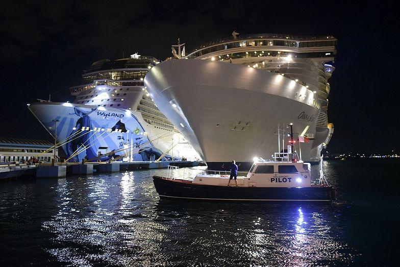 Luksusowy statek właśnie zacumował. Wtedy doszło do tragedii