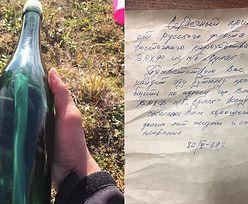 Na plaży leżał list w butelce. Wiadomość od Rosjan sprzed 50 lat