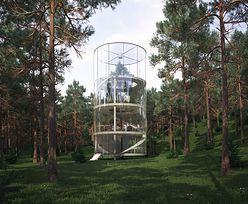 """Idea """"domku na drzewie"""". Architekt poszedł o krok dalej"""