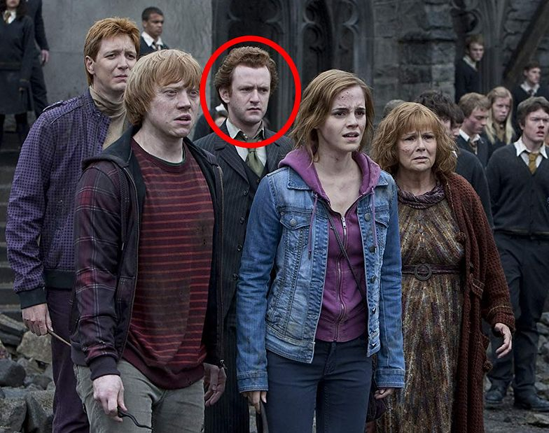 Chris Rankin to Percy Weasley, starszy brat Rona