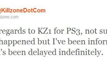 Pierwszy Killzone na PS3? Jeśli w ogóle się ukaże, to nieprędko