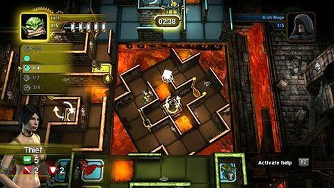 Planszówka Dungeon Twister niedługo zakręci się na PSN