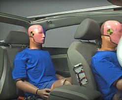 Co się dzieje z niezapiętym pasażerem z tyłu podczas wypadku? Tragiczne wyniki testu