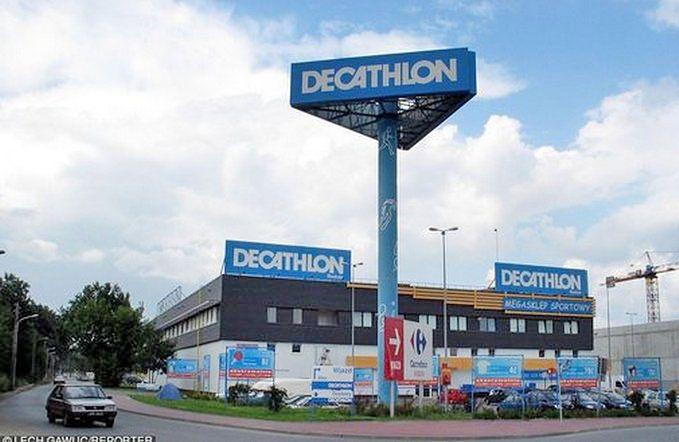 Sieć Decathlon nie ma z akcją nic wspólnego
