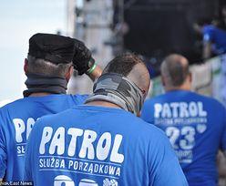 Pijani strażacy na festiwalu Pol'and'Rock. Szarpali się z ochroną