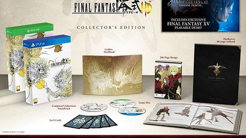 Ujawniono edycję kolekcjonerską Final Fantasy Type-0 HD