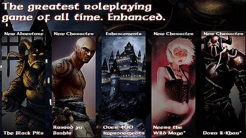 Trzy nowe postaci, 6 godzin nowych lochów, 20 dolarów - Baldur's Gate: Enhanced Edition