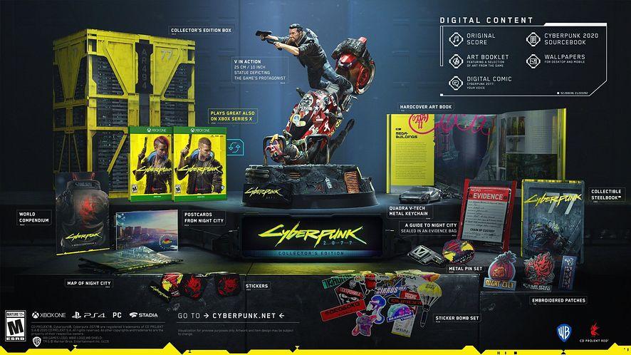 Anulowane edycji kolekcjonerskich Cyberpunk 2077? CD Projekt Red wyjaśnia [AKTUALIZACJA]