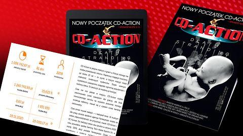 CD-Action już zebrało milion złotych