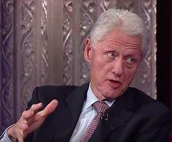 Bill Clinton zaskakuje: Donald Trump to maczo!