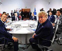 Macron: Jest wspólne stanowisko G7 ws. Iranu. Trump: niczego nie podpisywałem