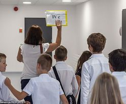 """Strajk nauczycieli. Nie wszyscy protestują. """"Polityka i manipulacja dziećmi"""""""