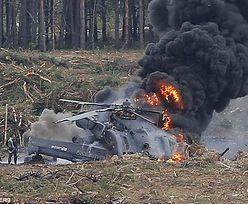 Katastrofa wojskowego śmigłowca, zginęło 13 żołnierzy