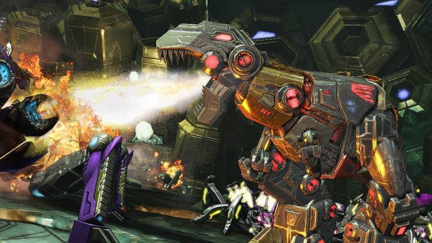 Mała galeria z wielkimi robotami [Transformers: Fall of Cybertron]