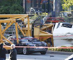 Tragedia w Seattle. Żuraw runął na samochody, są ofiary