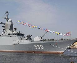 Grupa rosyjskich okrętów na Bałtyku. To kolejny etap Zapad-2017