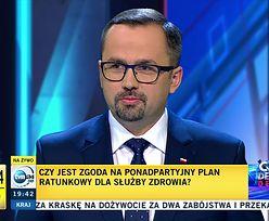 """Makowski: """"W PiS-ie zadowoleni z Horały. W debacie w TVN wypadł 'jak pistolet'"""" [OPINIA]"""