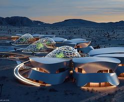 """Wakacje """"na Marsie"""". Stacja na pustyni Mojave w Kalifornii"""