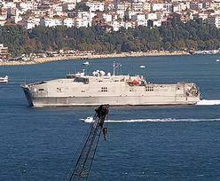 Okręt USA na Morzu Czarnym. Rosja zareagowała