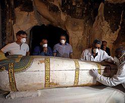 Niesamowite znalezisko w Egipcie. Mumia sprzed 3 tys. lat