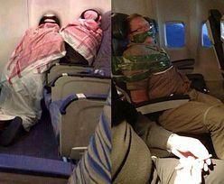 W samolocie też bywa zabawnie