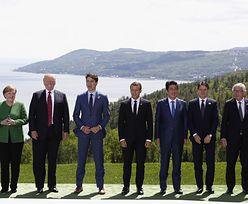 Zdjęcie ze szczytu G7 ujawnia tajemnicę Donalda Trumpa. Skłamał o swoim zdrowiu