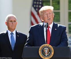 Donald Trump nie przyleci do Polski. Amerykańskie media o prawdziwych powodach odwołania wizyty