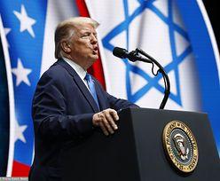 Donald Trump mocno uderzył w Żydów. Podniosła się wrzawa