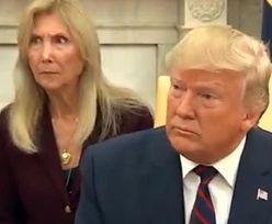 Donald Trump wprawił w osłupienie. Ale to mina tłumaczki wygrała