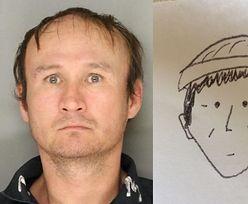 Wyśmiali policję za ten portret pamięciowy. Potem zrzedły im miny