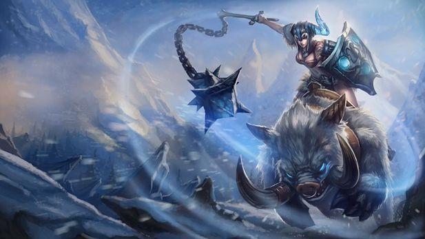 Sejuani - nowy czempion nadjeżdża do Leauge of Legends na dziku