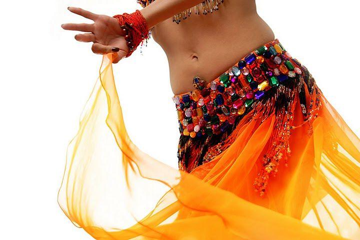 Tancerka - strój do tańca brzucha