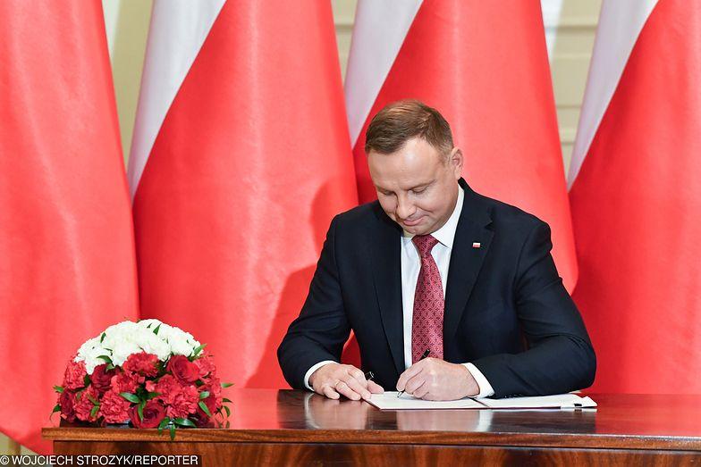 Andrzej Duda podpisał ustawę o wsparciu armatorów śródlądowych