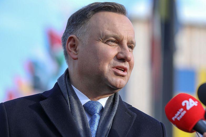 """Andrzej Duda ws. sporu kompetencyjnego. """"Jeśli trafi do SN, nie powinien być procedowany"""""""