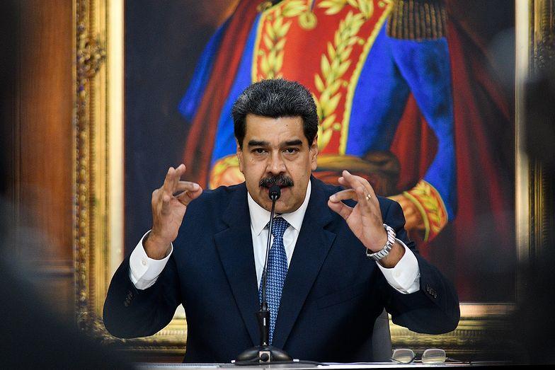 Prezydent Wenezueli oskarżony przez Amerykanów o narkoterroryzm