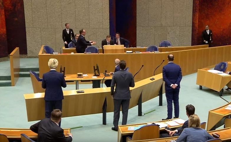 Debata o koronawirusie. Minister zdrowia Holandii zasłabł podczas wystąpienia