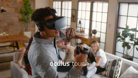 Razem z Oculus Touch pojawi się też zaawansowane śledzenie ruchów gracza w przestrzeni