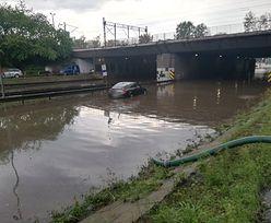 Śląsk i Zagłębie zalane. Najgorzej w Katowicach. Ulewy powodują ogromne zniszczenia