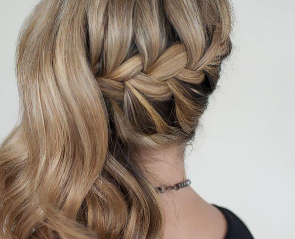 Swiąteczne fryzury