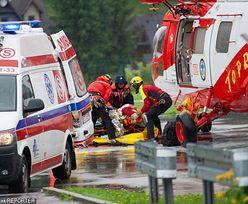 Bohaterski ksiądz z Giewontu. Raziły go pioruny, gdy pomagał rannym w Tatrach
