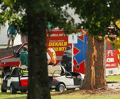 Dwa pioruny uderzyły podczas zawodów sportowych. 6 osób rannych