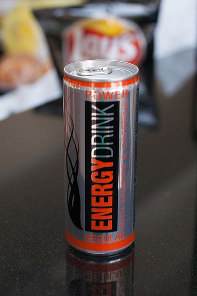 Napoje energetyczne: nie