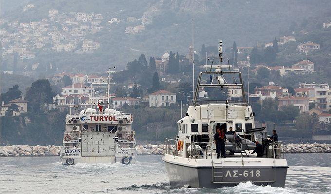 Grecka straż przybrzeżna ostrzelała turecki statek