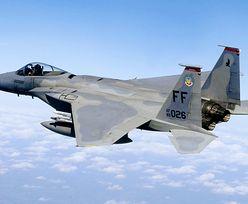 Katastrofa amerykańskiego myśliwca F-15 na Okinawie. Pilot przeżył