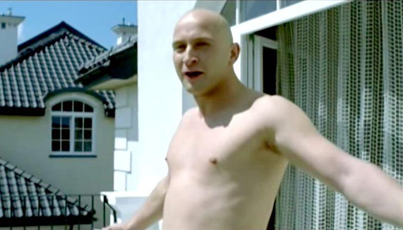 """Borys Szyc w filmie """"Wojna polsko-ruska"""""""