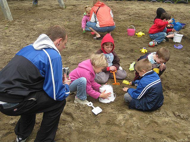 Zajęcia z dziećmi w przedszkolu