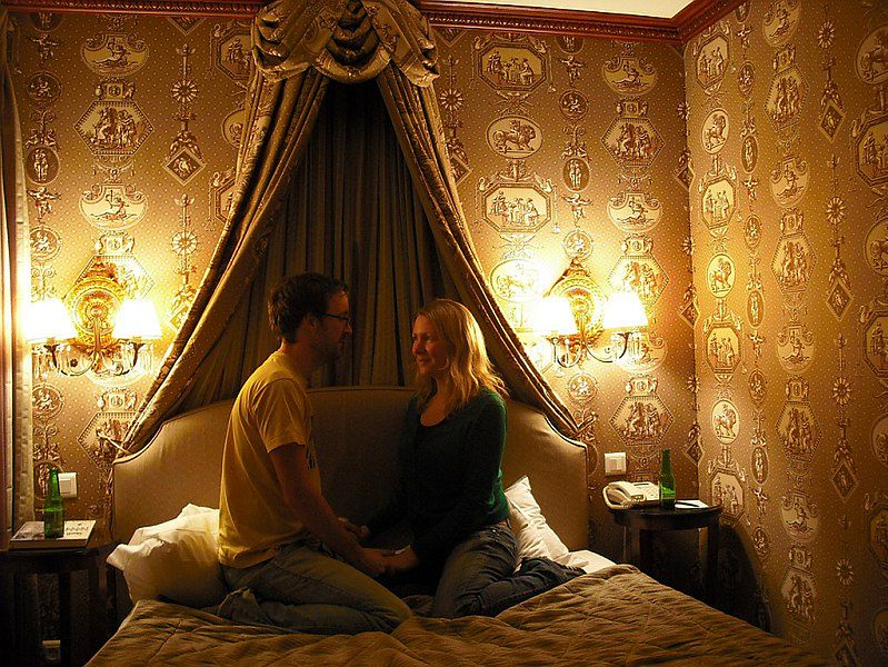 Para w sypialni