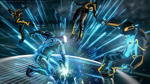 Tron: Escape zasuwa na świetlnym motocyklu w stronę PS4, PC i X1
