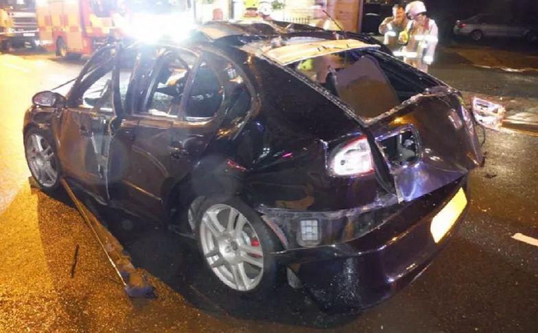 Auto wybuchło. Kierowca popełnił błąd