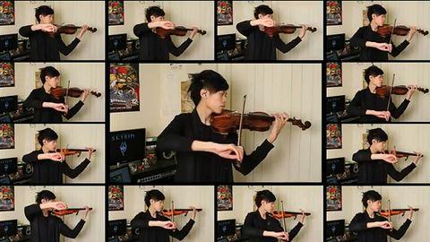 Muzyka ze Skyrim zagrana z pasją